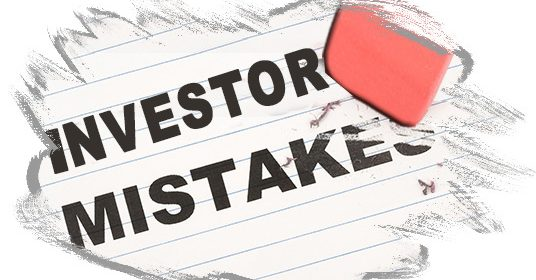 Top Investment Mistakes People Must Avoid